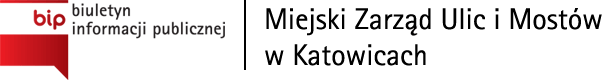 BIP Miejski Zarząd Ulic i Mostów w Katowicach
